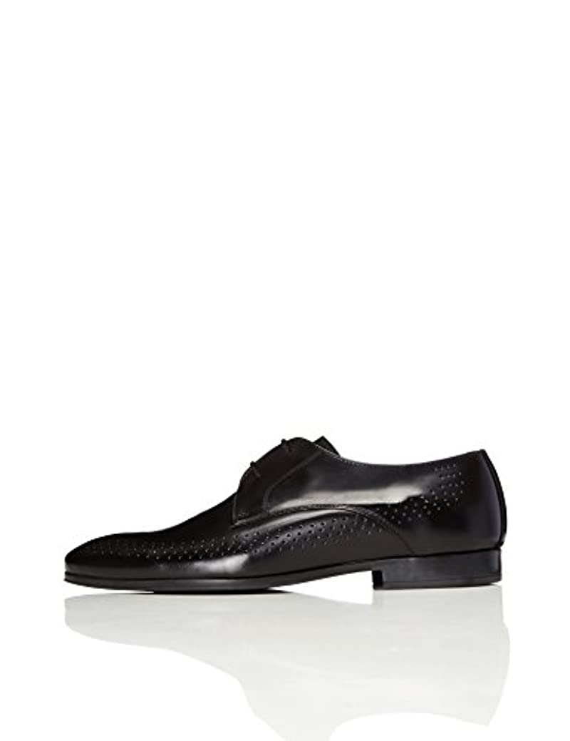 Amazon Brand - find. Men's Leather Formal Lace-Up Pointed Shoes