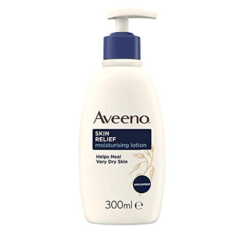 Aveeno Skin Relief Moisturising Lotion - Soothes Skin From Day 1 - Body Lotion for Very Dry and Irritable Skin Care - 300 ml