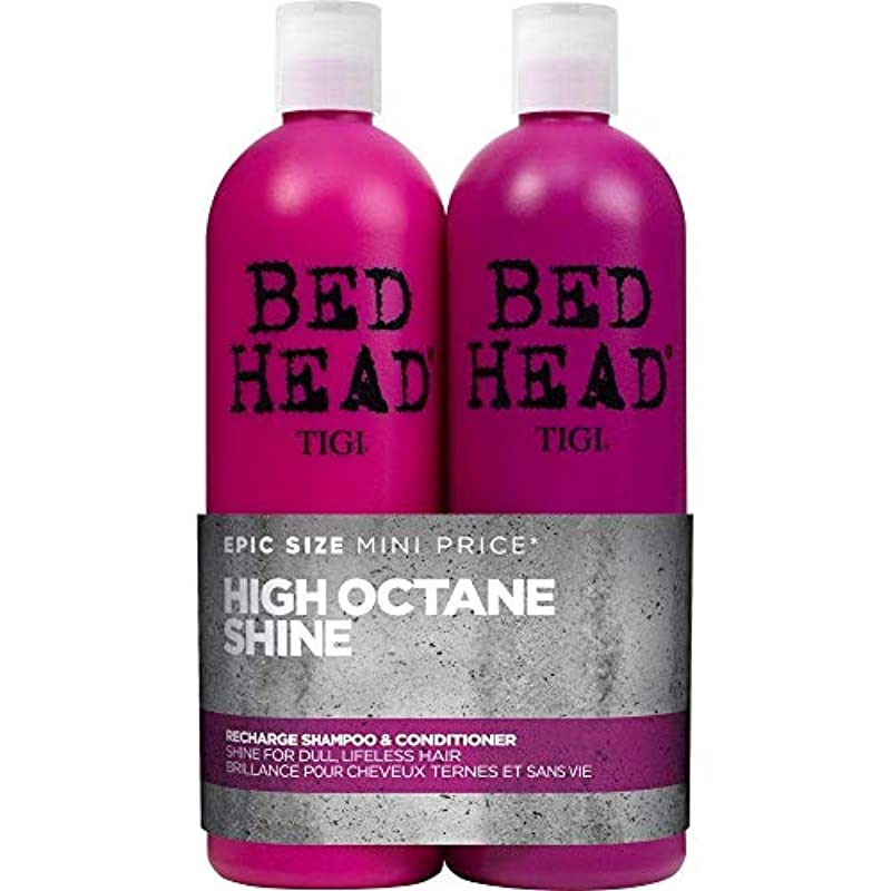 Bed Head by Tigi Recharge High Shine Shampoo and Conditioner, 750 ml, Pack of 2