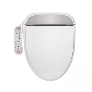 FLORY EU Bidet Electric Digital Intelligent Toilet Seat FDB320 Energy-Saving Technology,Eco-Friendly,Water & Seat Heater,Warm Wind & Air Dry-Elongated