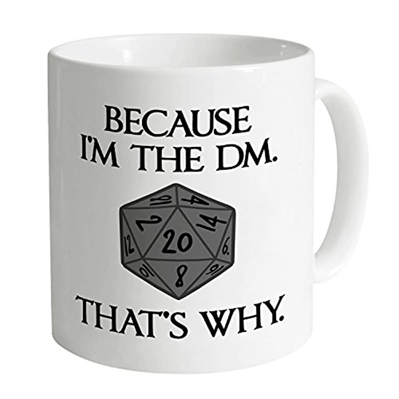 Inspired by Dungeons and Dragons - I'm The DM Mug