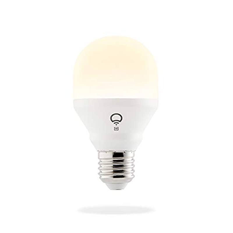 LIFX Mini White (E27) Wi-Fi Smart LED Light Bulb, Dimmable, Warm White, No Hub Required, Works with Alexa, Apple HomeKit and The Google Assistant