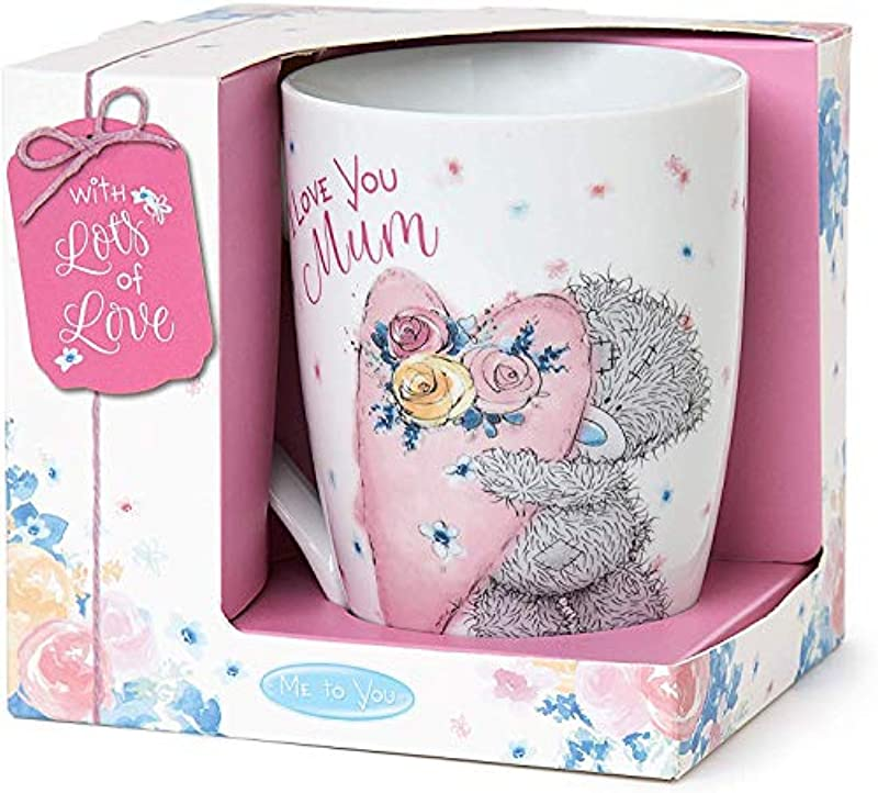 Me to You Tatty Teddy Mothers Day Coffee Boxed Mug I Love You Mum