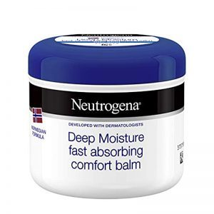 Neutrogena Deep Moisture Fast Absorbing Comfort Balm 300 ml for Dry Skin