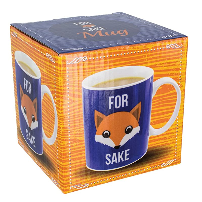 Paladone PP2694, H Fox Sake Novelty Mug | Funny Coffee Cup With A Very Memorable Say What You See Quote | Ideal For Office, Home & Perfect Gift