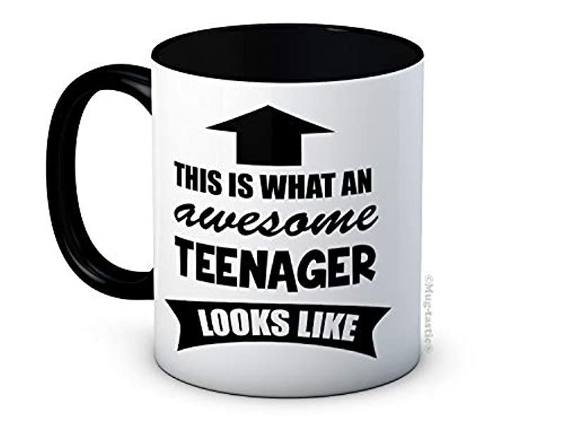 This is What an Awesome Teenager Looks Like - High Quality Coffee Mug - A Great Gift Idea for Any Occasion