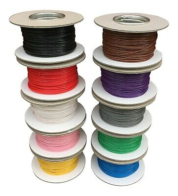 0.5mm 1mm 1.5mm AUTOMOTIVE THIN WALL ELECTRICAL AUTO LOOM CAR VAN CABLE WIRE