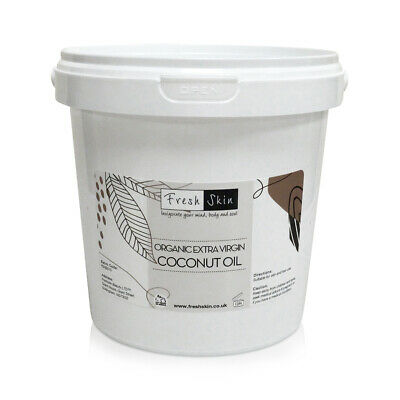 1kg Organic Extra Virgin Coconut Oil - 100% Pure, Raw & Cold Pressed (1000g)