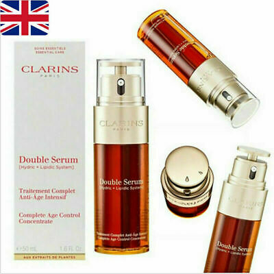 50ml Concentrate Anti Aging Control Firming UK Clarins Double Serum Complete Age