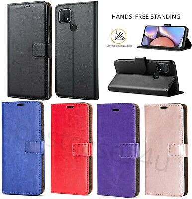 For Oppo A15 A35 A15S Phone Case Leather Flip Case Shockproof Wallet Book Cover