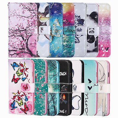 For Samsung Galaxy A40 A50 A20E A10 A71 A70 A21S Wallet Flip Case Stand Cover