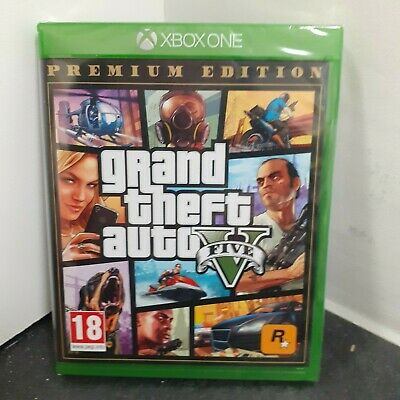 Grand Theft Auto GTA v 5 Premium Edition Xbox One Game - New and Sealed