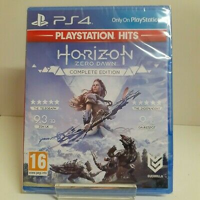 Horizon Zero Dawn Complete Edition PS Hits PS4 Playstation 4 Game - New & Sealed