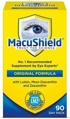 Macushield Capsules Eye Supplement Pack of 90 With Meso-zeaxanthin 90 day supply