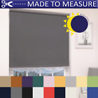 MADE TO MEASURE BLACKOUT ROLLER BLINDS - 100% THERMAL - CUSTOM MADE TO SIZE