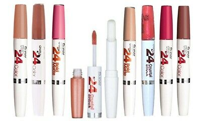 MAYBELLINE SUPERSTAY 24 HOUR LIPSTICK #CHOOSE SHADE #NEW IN BOX
