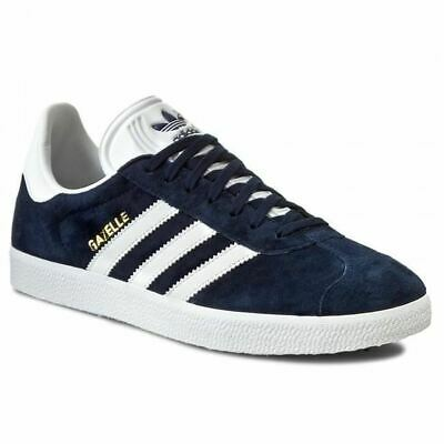 Men's Adidas Gazelle Classic Trainers Sneakers Casuals Navy