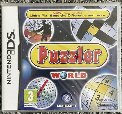 Nintendo DS Game - Puzzler World - Brand New And Sealed - Free UK PP