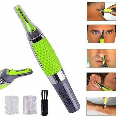 Nose Ear Neck Nasal Eyebrow Sideburns Hair Trimmer Clipper Remover ALL IN ONE