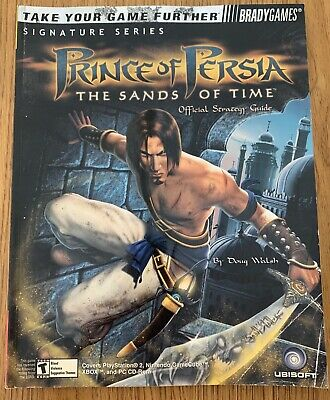 Official Strategy Guide Prince of Persia The Sands of Time - VGC - Free UK PP