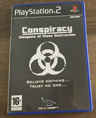 Playstation 2 PS2 Game - Conspiracy Weapons of Mass Destruction - VGC Free UK PP