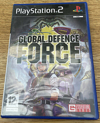 Playstation 2 PS2 Game - Global Defence Force - Complete - VGC - Free UK PP