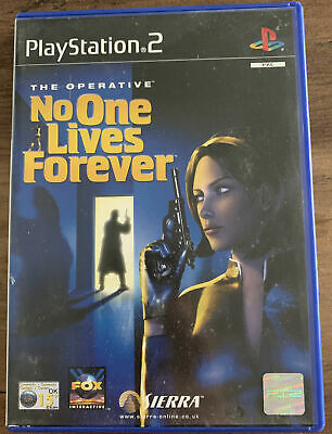 Playstation 2 PS2 Game - The Operative No One Lives Forever - VGC Free UK PP