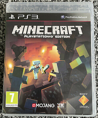 Playstation 3 PS3 Game - Minecraft Playstation3 Edition - VGC Free UK PP