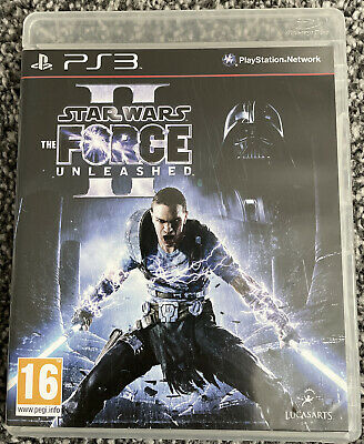 PlayStation 3 PS3 Game - Star Wars The Force Unleashed II - VGC