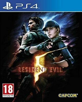 Resident Evil 5 HD includes ALL DLC Playstation 4 PS4 NEW SEALED IN STOCK NOW