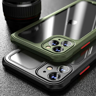 Shockproof Case for iPhone 13 12 11 Pro Max Mini XR X XS MAX 7/8 PLUS SE Clear