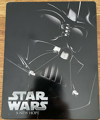 Star Wars A New Hope Blu-Ray - Steelbook Edition - VGC - Free UK PP
