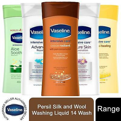 Vaseline Intensive Care Body Lotion, 3 Pack, 400ml