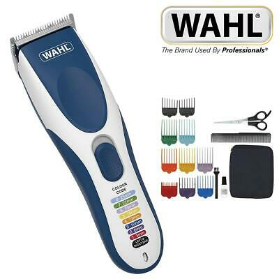 Wahl Mens Colour Pro Cord Cordless Hair Clipper Trimmer Grooming Set 9649-017