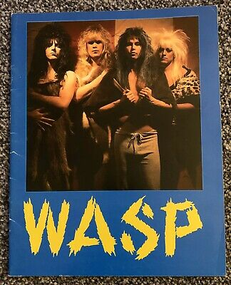 WASP Welcome to the Electric Circus - Tour Programme 1986 - VGC - Free UK PP