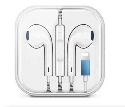 Wired Bluetooth earphones headphones for iPhone 7 8 X 11 12 13 Pro Max with Mic