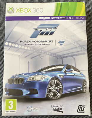 Xbox 360 Game - Forza Motorsport Limited Collectors Edition - PAL VGC Free UK PP