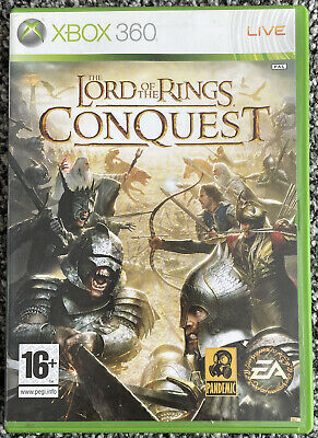 Xbox 360 Game - The Lord Of The Rings - Conquest - PAL - Free UK PP
